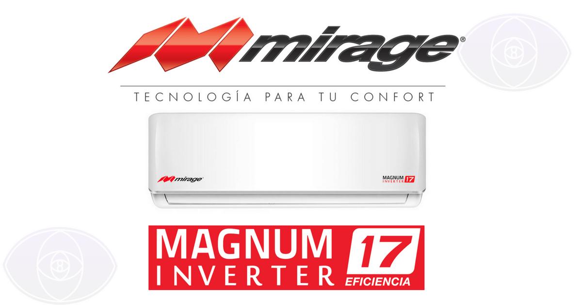 mini split mirage m193gnum 17 inverter imperios tecnologicos